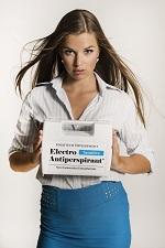 Electro Antiperspirant zastaví pocení podpaží